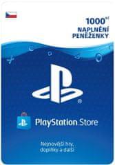 Sony PlayStation Store naplnění peněženky 1000 Kč (SCEE-CZ-00100000) - elektronicky
