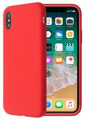 SO SEVEN Smoothie Silikonový Kryt pro iPhone X/XS SSBKC0034, červený