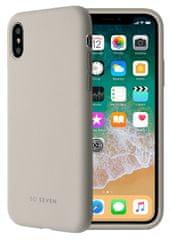 SO SEVEN etui silikonowe na telefon Smoothie iPhone 7/8 SSBKC0074, szare