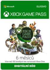 Microsoft Xbox Game Pass 6 miesiące (S3T-00004) - elektroniczne