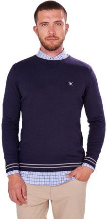 AUDEN CAVILL muški pulover, XXL, tamno plavi