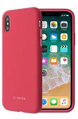 SO SEVEN etui silikonowe na telefon Smoothie iPhone X/XS SSBKC0080, czerwono-różowe