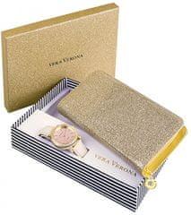 Vera Verona dámské hodinky a peněženka MWF16-071C