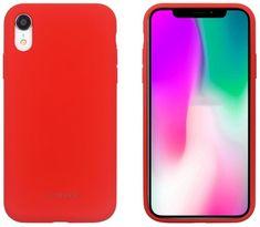 SO SEVEN Smoothie Silikonový Kryt pro iPhone XR SSBKC0109, červený