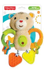 Fisher-Price Veľká hrkálka s aktivitami medveď