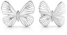 Guess Motýlkové náušnice UBE85090