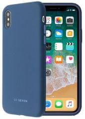 SO SEVEN etui silikonowe na telefon Smoothie do iPhone XS Max SSBKC0119, ciemnoniebieskie