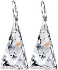 Preciosa Náušnice Crystal Pyramid 6843 00 striebro 925/1000