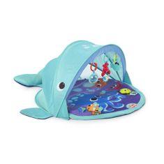 Bright Starts Deka na hranie s UPF 50 filtrom Explore & Go veľryba