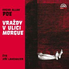 Poe Edgar Allan: Vraždy v ulici Morgue - CD