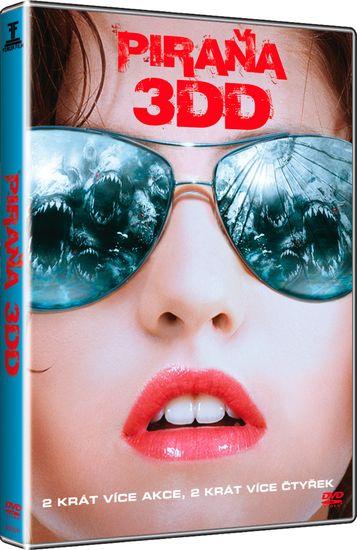 Piraňa 3DD - DVD