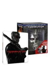 Terminator Genisys 3D+2D (3 disky - steelbook) sběratelské balení s lebkou - Blu-ray