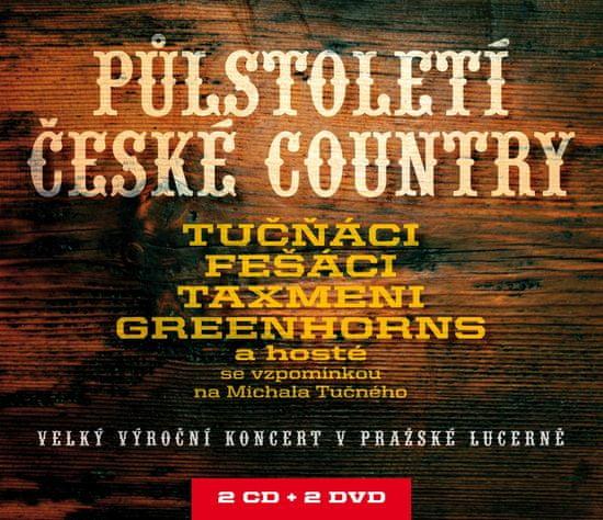 Půlstoletí české country (2x CD + 2x DVD) - CD+DVD