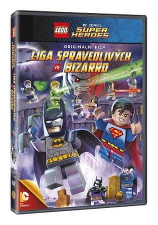 Lego DC - Liga spravedlivých vs. Bizarro - DVD