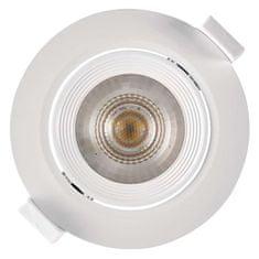 Emos LED bodové svítidlo bílé, kruh, teplá bílá (7 W)
