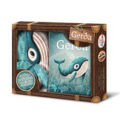 Macho Adrián: Gerda - box (kniha, polštářek, omalovánky)