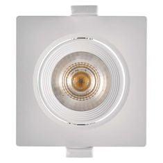 Emos LED bodové svítidlo bílé, čtverec, teplá bílá (7 W)