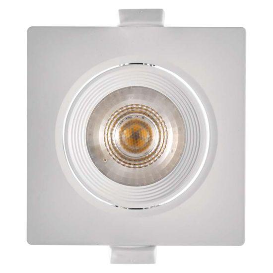 Emos LED bodové svítidlo bílé, čtverec, neutrální bílá (7 W)