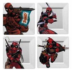 Deadpool - BANG! (készlet 4 darab) tányérok
