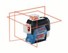 BOSCH Professional linijski laser GLL 3-80 C + laserski merilnik razdalj GLM 50 C (0601063R07)