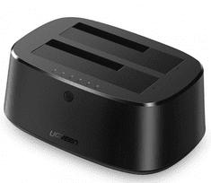 Ugreen dvostruka priključna stanica za tvrdi disk USB 3.0 na SATA