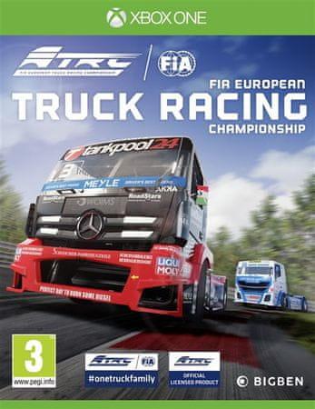 Bigben igra FIA European Truck Racing Championship (Xbox One)