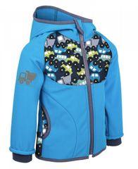 Unuo jakna za dječake softshell automobili