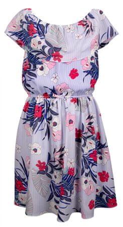 Happy Girls dievčenské šaty 128 modrá