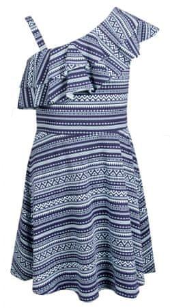 Happy Girls dievčenské šaty 128 tmavo modrá