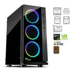 PCplus namizni računalnik GAMER i5-8400/8GB/240GB+1TB/GTX1060/FreeDOS (138170)