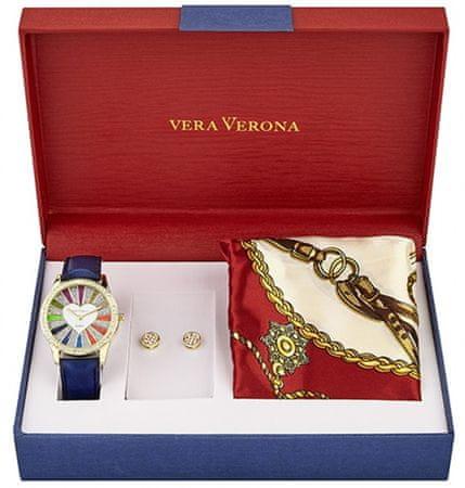 Vera Verona dámská dárková sada hodinek MWF16-081