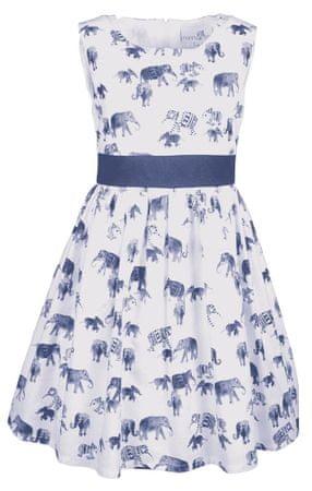 Happy Girls dievčenské šaty 104 modrá