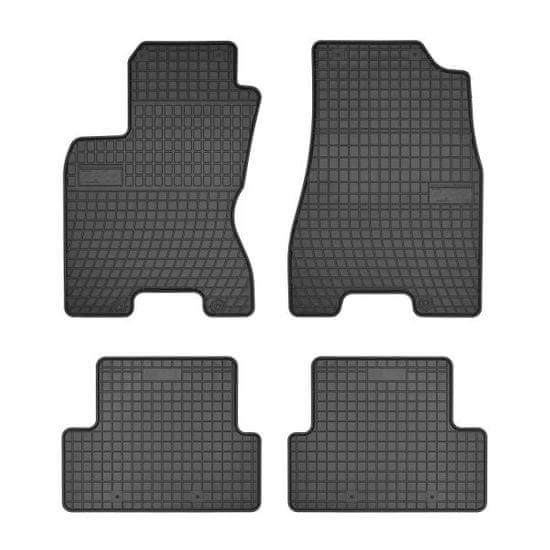 MAMMOOTH Koberce gumové, Nissan X-Trail (SUV) z let 06.2007-11.2013, sada 4 ks, černé