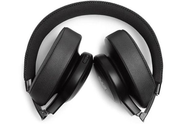 sluchátka jbl live 400bt handsfree hovory aplikace na mobil my jbl headphones app mikrofon pro handsfree hovory vícebodové připojení
