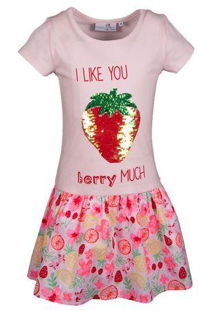 Happy Girls lány ruha 92 rózsaszín