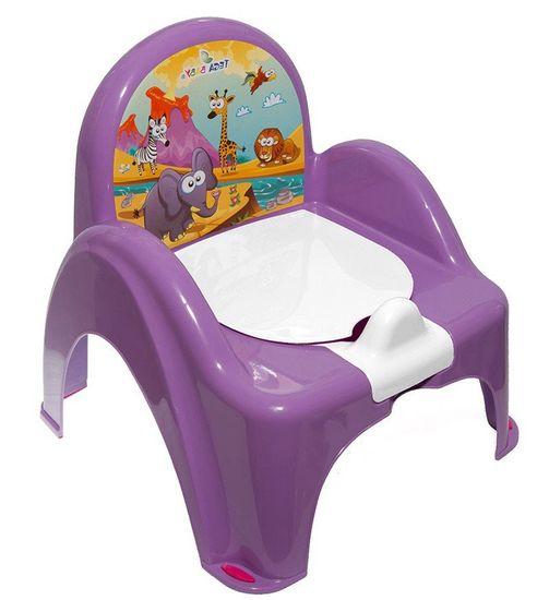 COSING Nočník - židlička, fialová