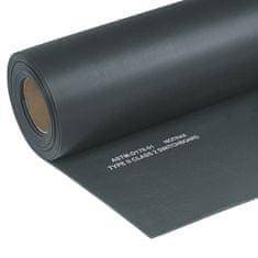 Černá elektroizolační průmyslová rohož Switchboard, Class 2 - 91 cm a 0,64 cm