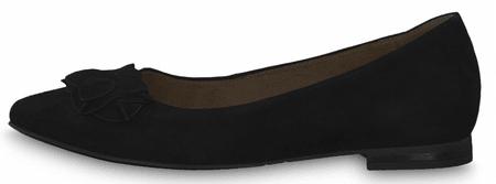 Tamaris dámske baleríny 22102 40 čierne