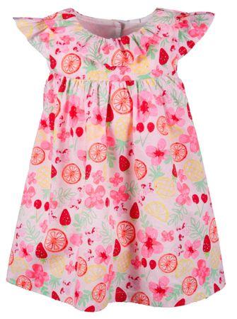 Happy Girls dievčenské šaty 62 viacfarebná