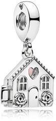Pandora Strieborný prívesok Dokonalý domov 797056EN160 striebro 925/1000