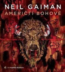 Písařovic Kajetán: Neil Gaiman: Američtí bohové (2x CD) - MP3-CD