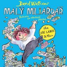 Lábus Jiří: Walliams: Malý miliardář (MP3-CD)