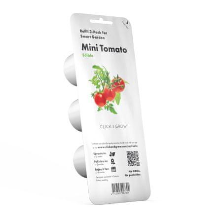 Click and Grow  sadilni lonček s semeni, mini paradižnik, 3 kosi