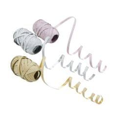 Butlers Stuha set 3 ks - růžová/stříbrná/zlatá