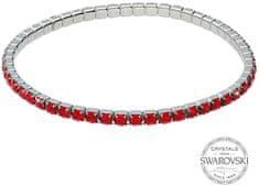 Levien Csillogó karkötő piros kristályokkal 1459561