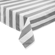 Butlers Ubrus 160 x 250 cm - šedá/bílá