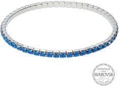 Levien Błyszczące bransoletka z niebieskimi kryształami 1459570