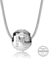 Levien Jeklena ogrlica črka R CLET-R