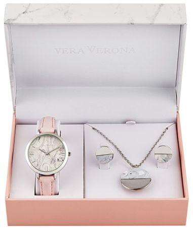 Vera Verona zestaw upominkowy dla kobiet z zegarkiem MWF16-200