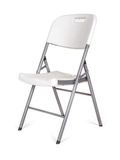 Happy Green Židle zahradní skládací OBLO 88 × 45 × 50 cm
